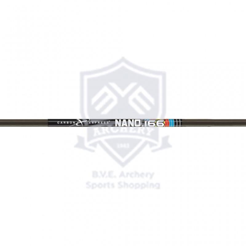 CARBON EXPRESS SHAFT NANO .166 (12 PCS)