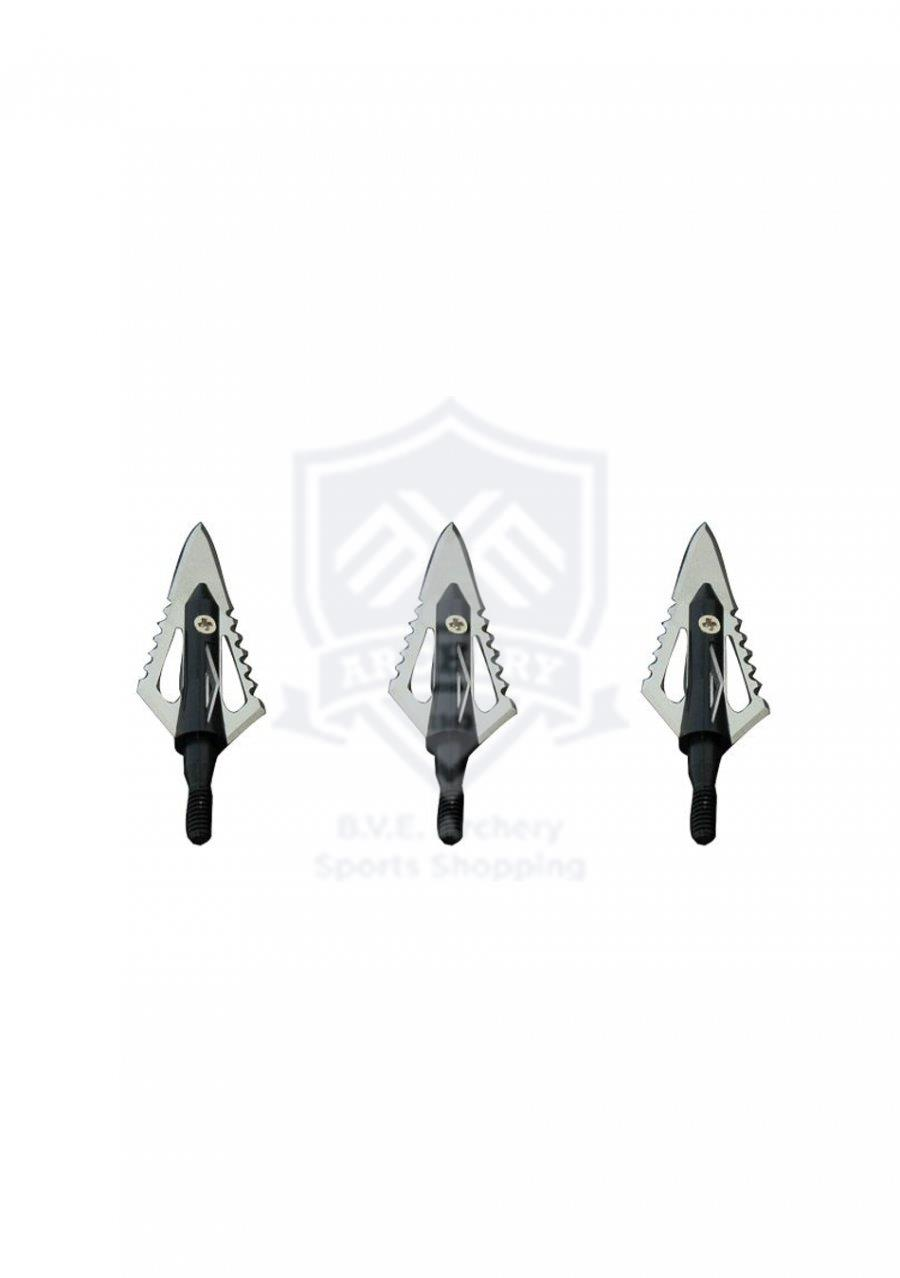 MAXIMAL BROADHEADS CROSS-CUT 4 BLADE 100 GR  3/PK