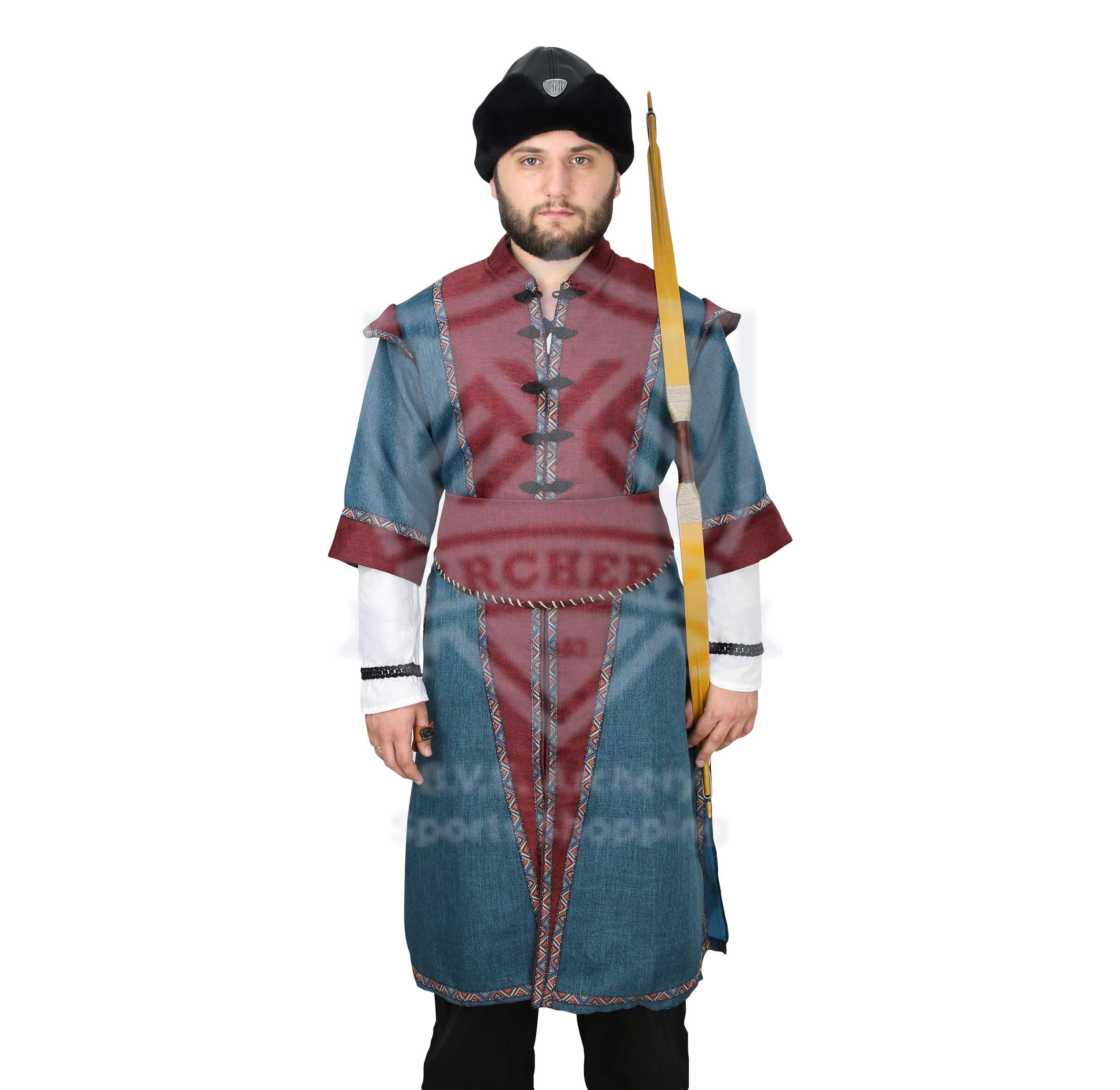 OTTOMAN TRADITIONAL COSTUME BL/RD