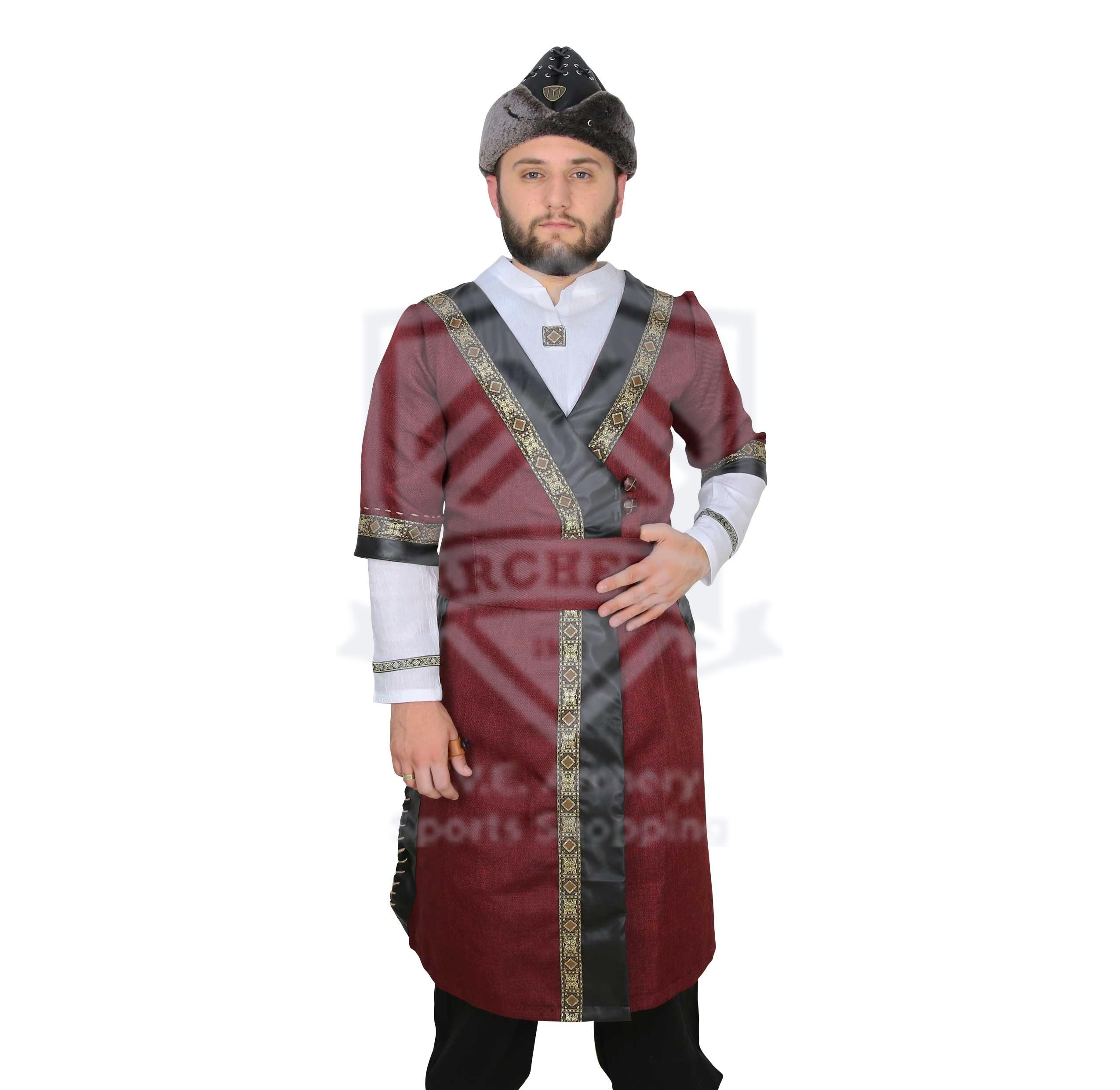OTTOMAN TRADITIONAL COSTUME RD/BK