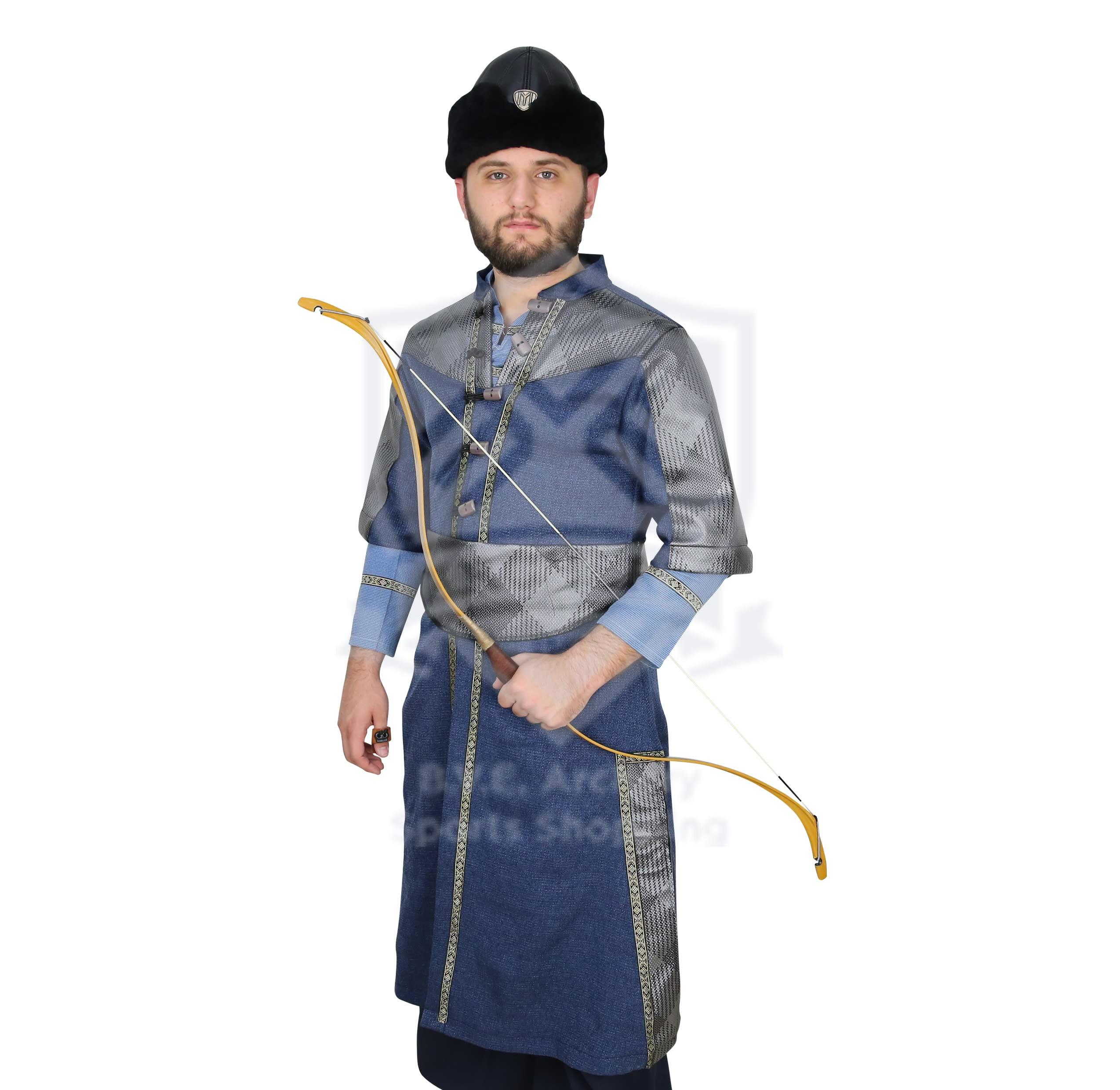 OTTOMAN TRADITIONAL COSTUME BL/GY